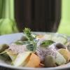 Macarrão Pappardelle de Legumes com Molho de Nozes