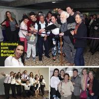 Patrícia Bortone inaugura escola holística