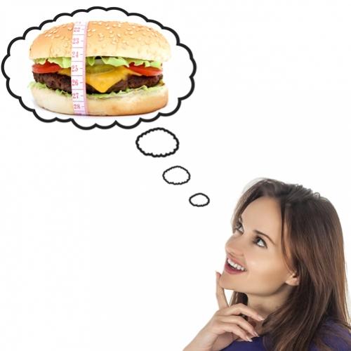 Você só come ou também pensa magro?