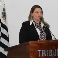 Em sessão, Roberta Barsotti aborda o trabalho desenvolvido na área da cultura em Atibaia