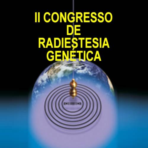 Dr. Daniel K. Nozawa e Dr. Francisco Vianna no Concresso de Radiestesia Genética